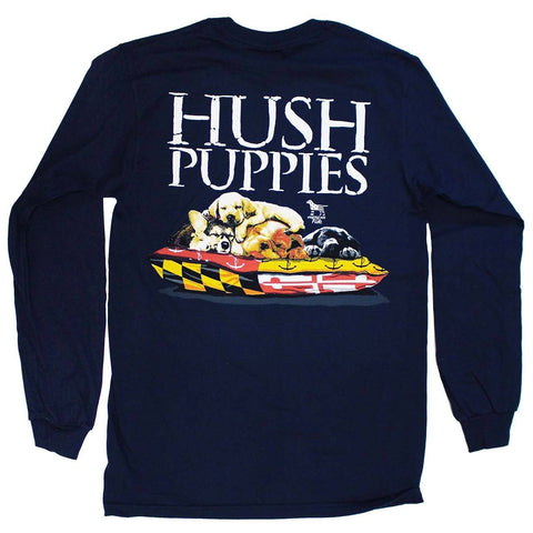 Maryland Hush Puppies (Sport Dark Navy) / Long Sleeve Shirt