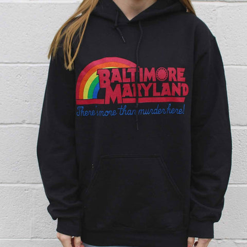 There's More Than Murder Here (Black) / Hoodie
