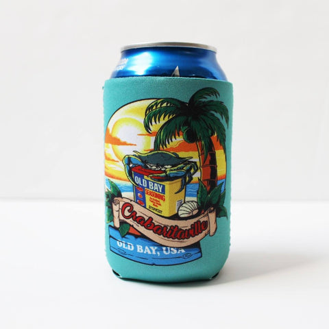 Crabaritaville - Old Bay USA (Chalky Mint) / Koozie
