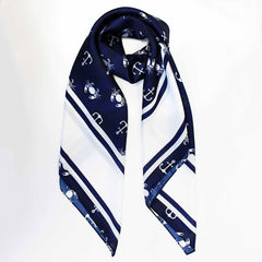Crab & Anchor / Silk Scarf