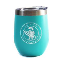 *PRE-ORDER* Natty Boh Land of Pleasant Living Surf (Mint) / Stemless Wine Tumbler (Estimated Ship Date: 4/20)