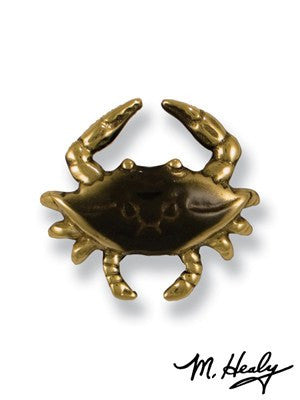 Blue Crab (Brass) / Door Bell Ringer