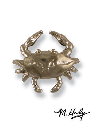 Blue Crab (Nickel Silver) / Door Bell Ringer - Route One Apparel