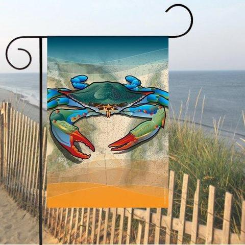 Coastal Blue Crab / Garden Flag