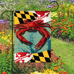 Maryland Red Crab / Garden Flag