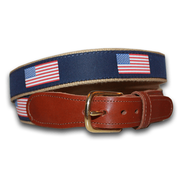 American Flag / Belt - Route One Apparel