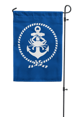Anchor, Crab & Rope / Garden Flag - Route One Apparel
