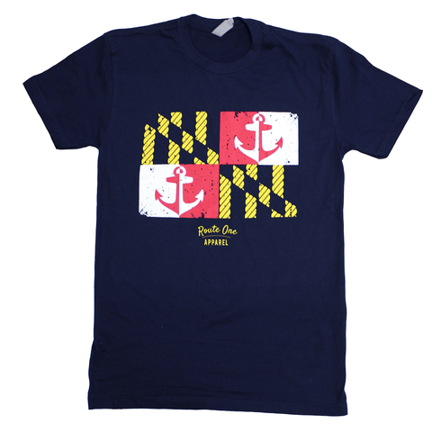Maryland Nautical Flag (Midnight Navy) / Shirt