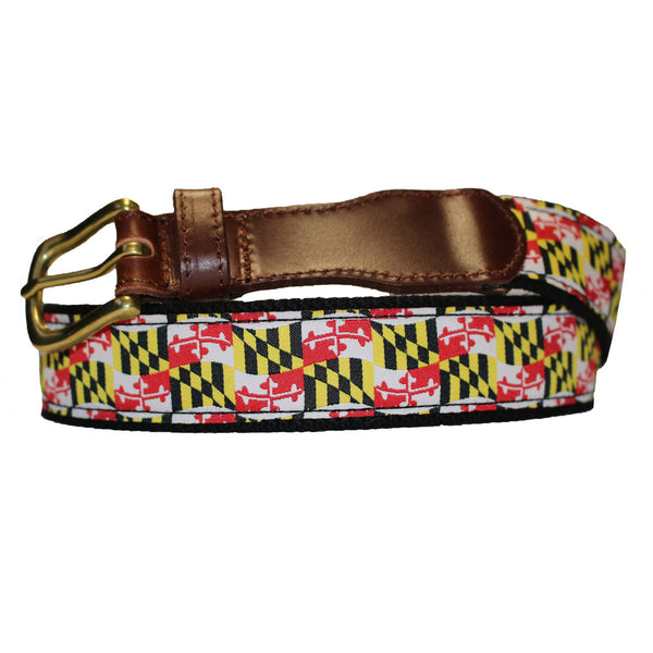 Waving Maryland Flag / Belt