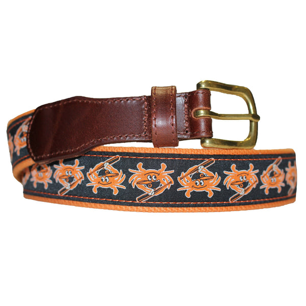 Baltimore Baseball Orange Crab / Belt