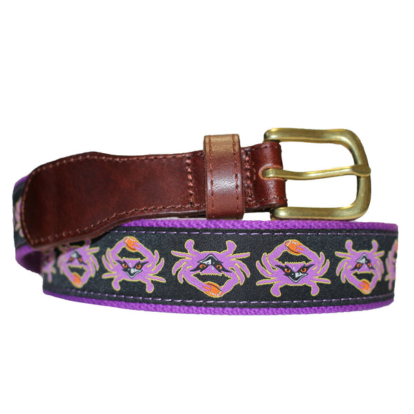 Baltimore Football Purple Crab / Belt