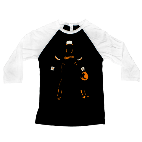 Baltimore Baseball Silhouette (Black) / Baseball Jersey - Route One Apparel