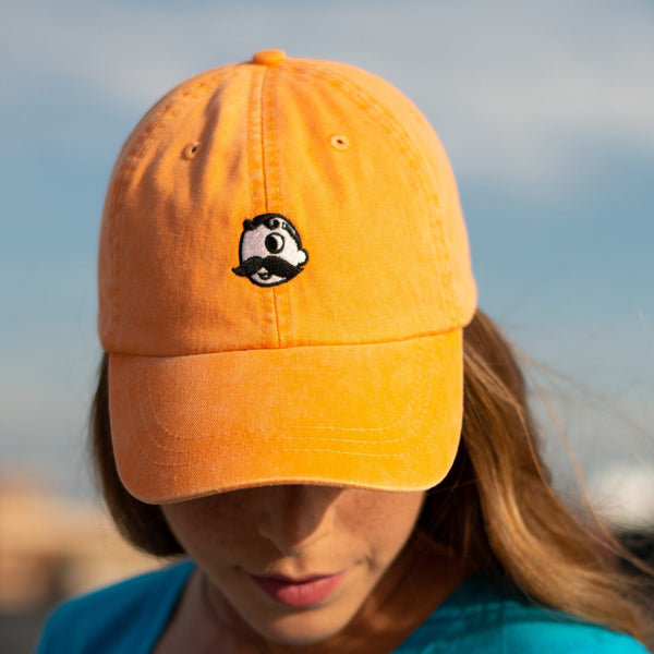 Natty Boh Logo (Orange) / Baseball Hat