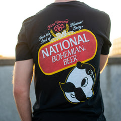 National Bohemian Beer Signature Classic (Black) / Shirt