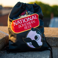 National Bohemian Beer / Drawstring Bag