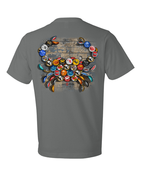 Natty Boh Bottle Cap (Storm Grey) / Shirt