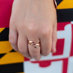 Crab Claw (Rose Gold) / Ring - Route One Apparel