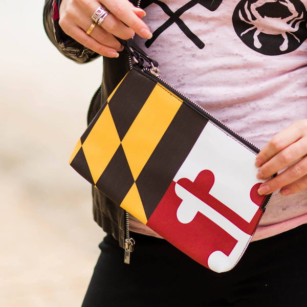 Maryland Flag *Stretch* / Wristlet