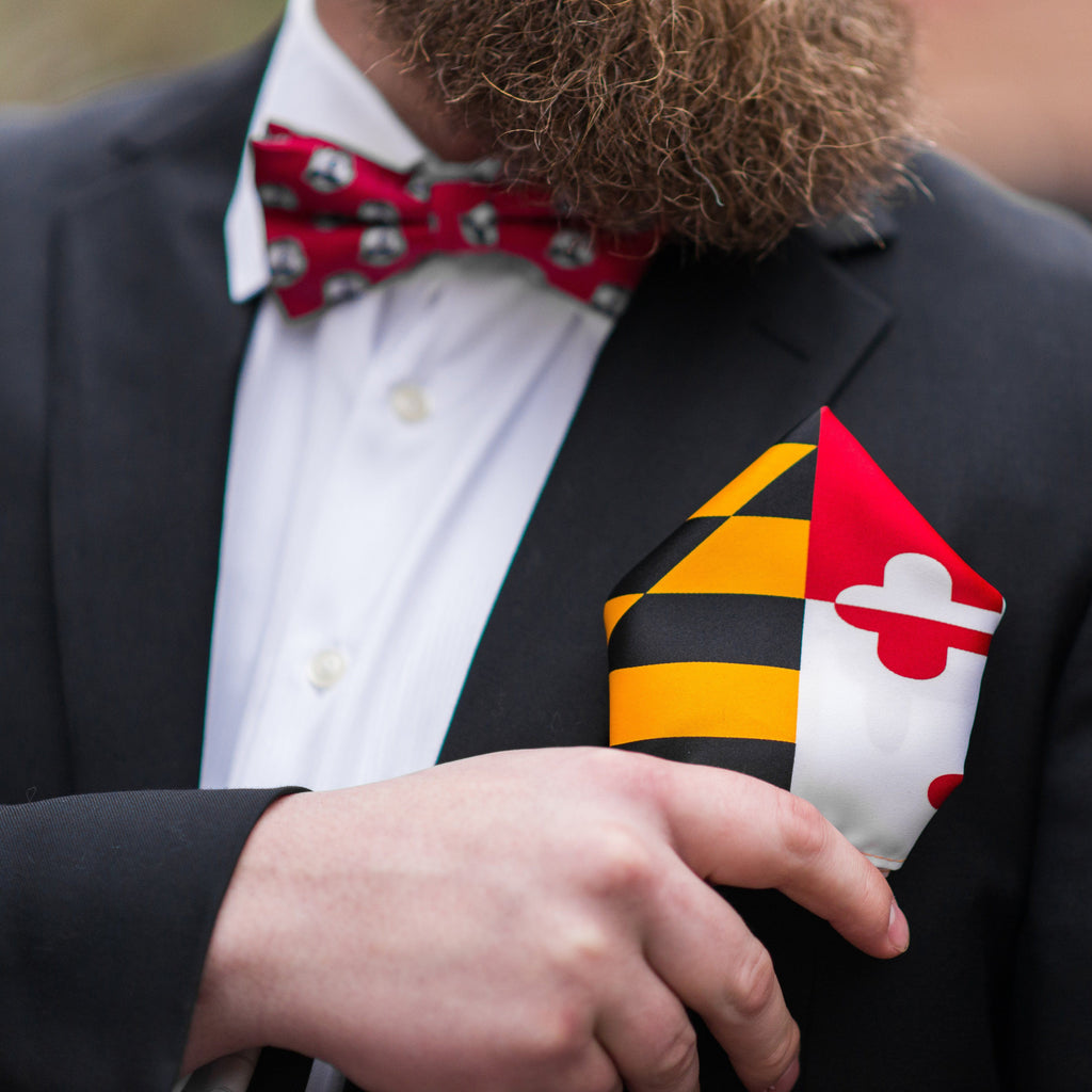 Maryland Flag / Pocket Square