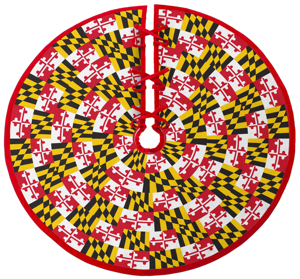 Maryland Flag / Tree Skirt