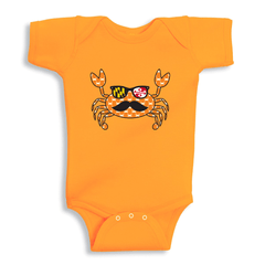 Fun Crab Disguise (Orange) / Baby Onesie