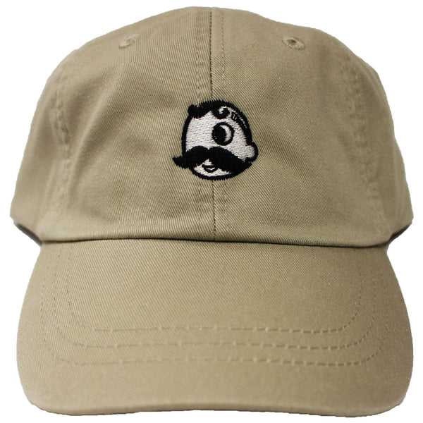 Natty Boh Logo (Khaki) / Baseball Hat
