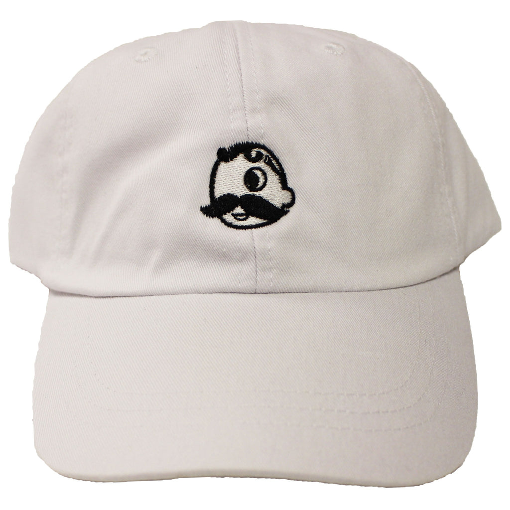 Natty Boh Logo (White) / Baseball Hat