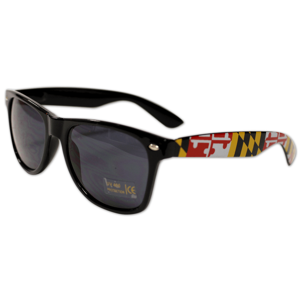 Black Maryland Full Flag / Shades
