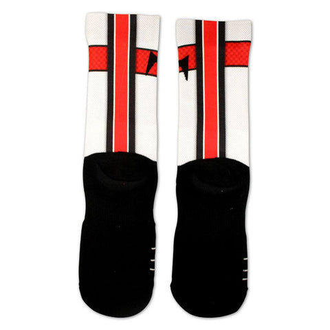 Maryland Jersey Series (White) / Crew Socks