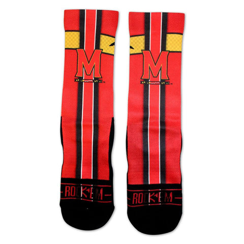 Maryland Jersey Series (Red) / Crew Socks