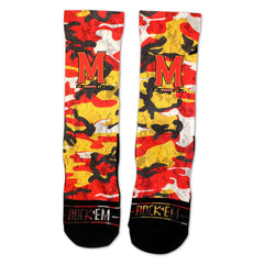 Maryland Camo / Crew Socks