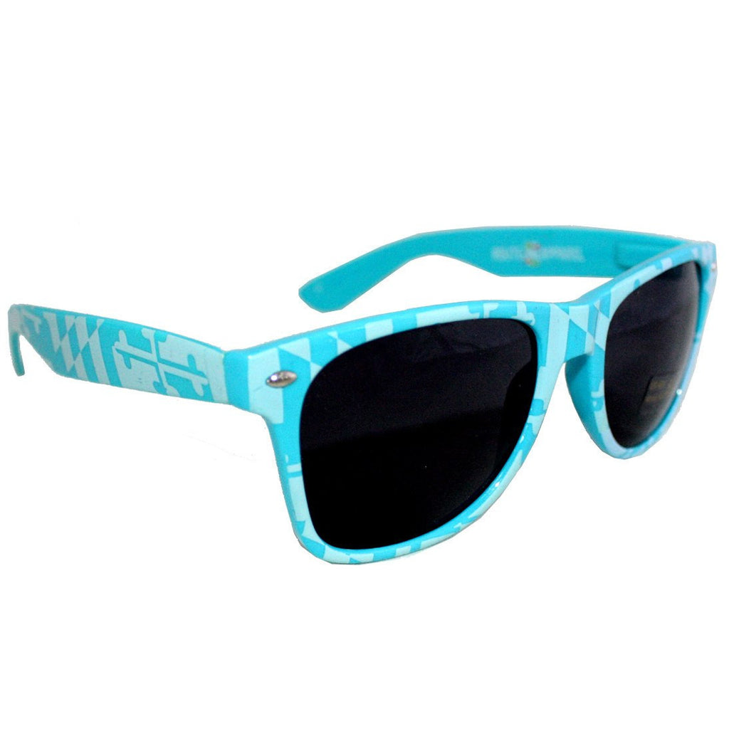 Teal Maryland Full Flag / Shades
