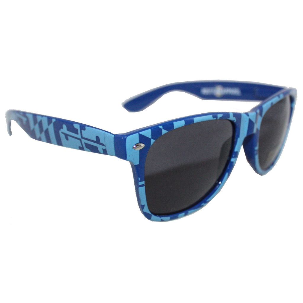Blue Maryland Full Flag / Shades - Route One Apparel