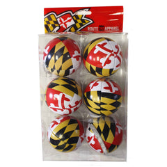 Maryland Flag / 6-Pack Ornaments