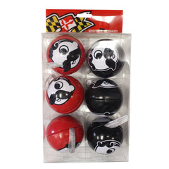 Natty Boh Logo (Red & Black) / 6-Pack Ornaments