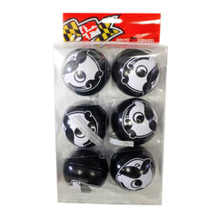 Natty Boh Logo (Black) / 6-Pack Ornaments