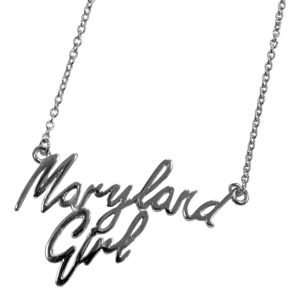 Maryland Girl (Sterling Silver) / Necklace