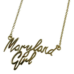 Maryland Girl (Sterling Silver w/ 14K Gold Vermeil) / Necklace