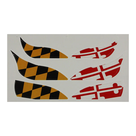 Maryland Flag / Eye Tattoos