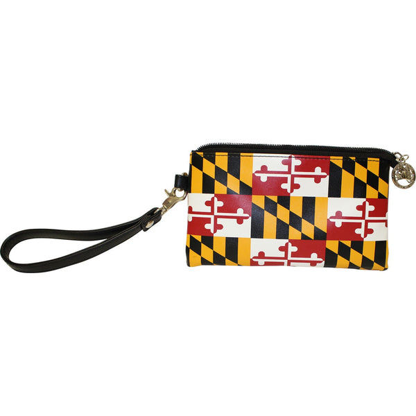 Maryland Flag / Wristlet