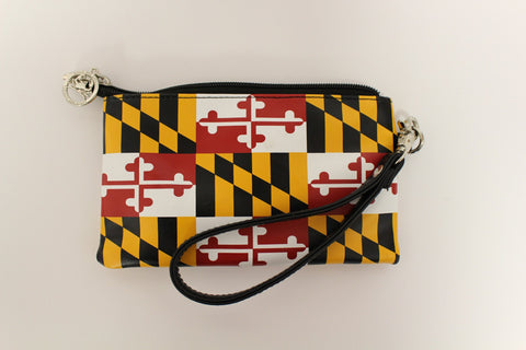 Maryland Flag *Smaller Print* / Wristlet