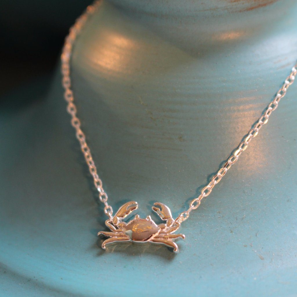 Maryland Blue Crab (Sterling Silver) / Bracelet