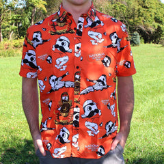 Natty Boh Baseball (Orange) / Hawaiian Shirt