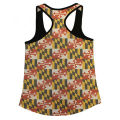 Maryland Flag (Black Side) / Tank