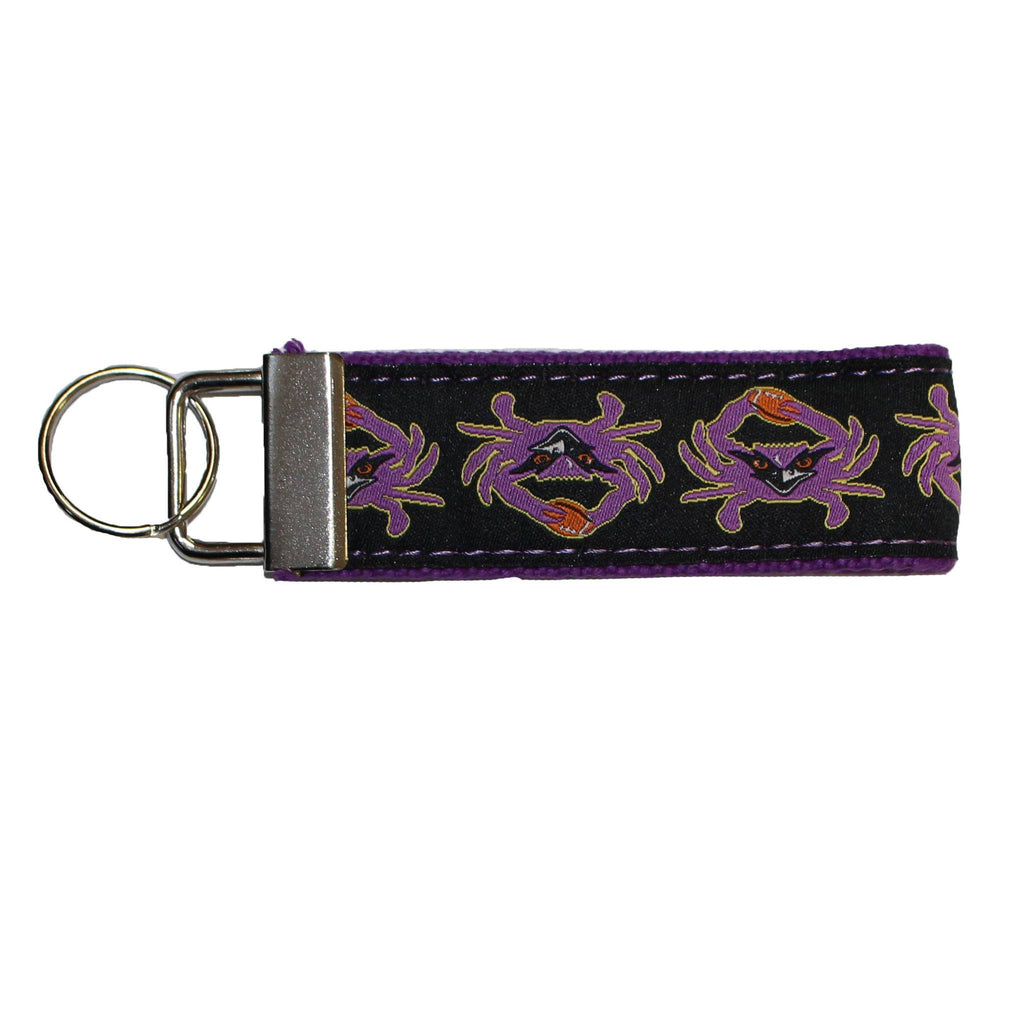 Football Purple Crab / Key Chain