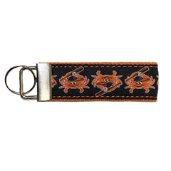 Baseball Orange Crab / Key Chain - Route One Apparel