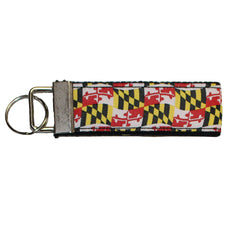 Waving Maryland Flag / Key Chain
