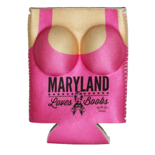 Maryland Loves Boobs (Pink) / Koozie