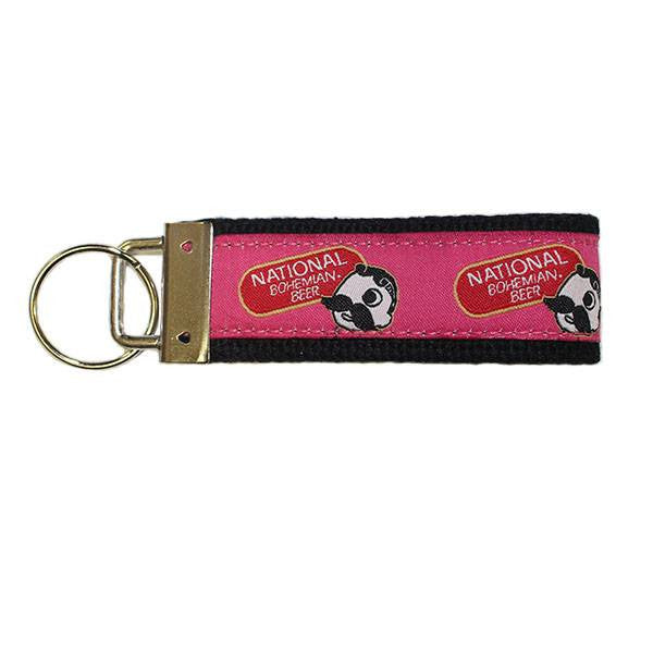 National Bohemian Beer (Pink) / Key Chain