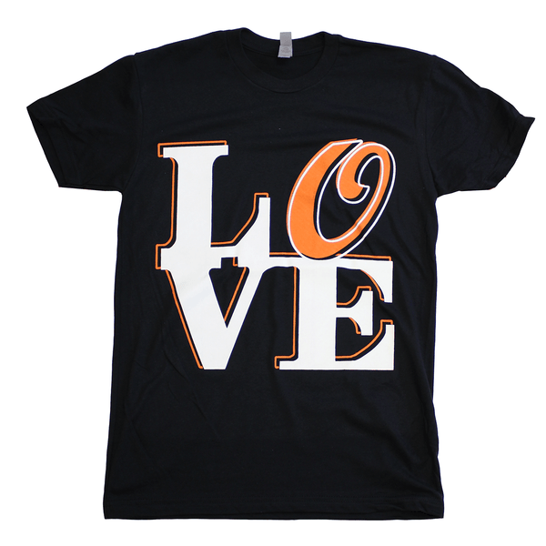 Baltimore LOVE (Black) / Shirt - Route One Apparel